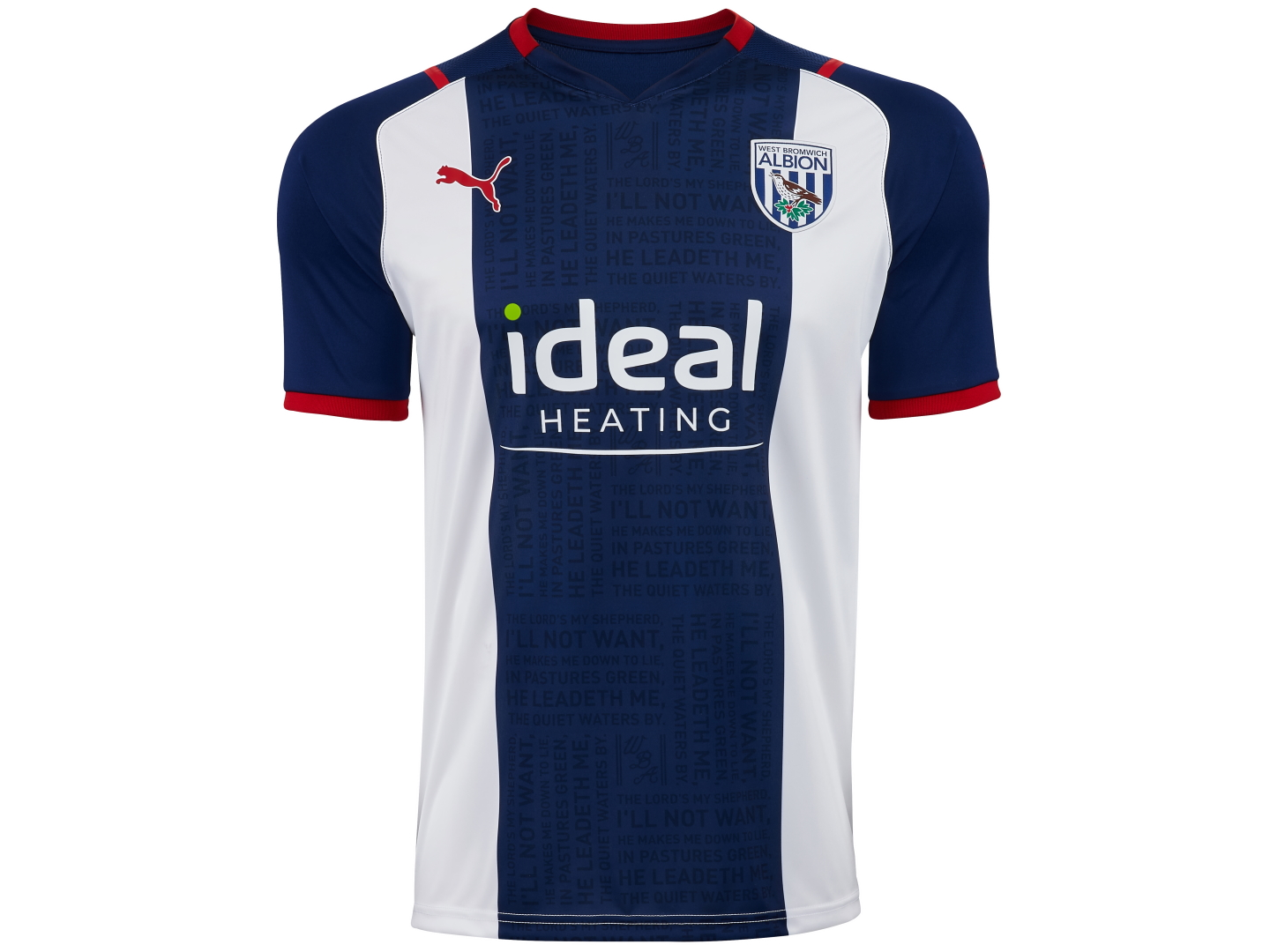 Take a closer look at the 21/22 Home Kit | West Bromwich Albion